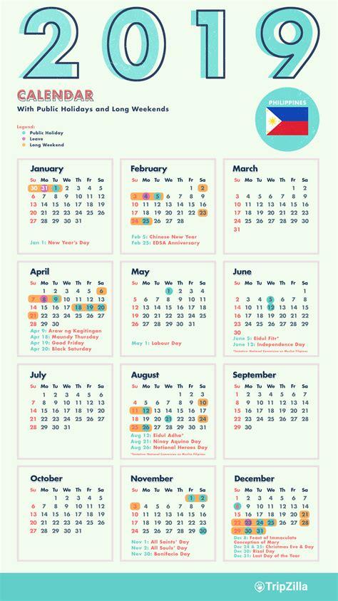 long weekends   philippines    calendar