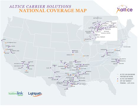 fiber map usa altice carrier solutions carrier grade 100 fiber optic
