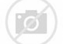 Lukisan Pemandangan Desa di Kaki Gunung