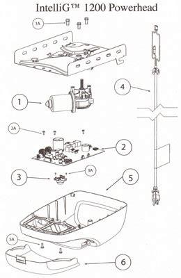 Overhead Door Parts List Genie Garage Door Opener Intellig Overhead Door Destiny Parts List
