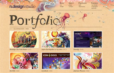 clockworklives portfolio page layouts 26 fantastic exles of creative portfolio website