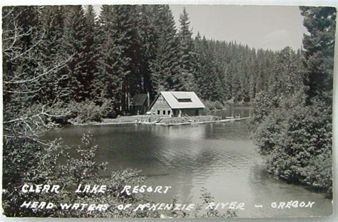 Clear Lake Cabins Oregon by Oregon River Historical Information