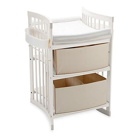 Stokke Care Changing Table Buy Stokke 174 Care Changing Table In White From Bed Bath Beyond