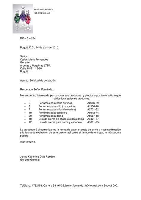 carta de cotizacion pin carta solicitud cotizacion picture pictures on pinterest