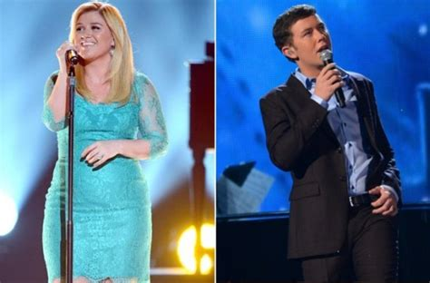 Tonight Aol Debuts The American Idol Winners Single 10pm Et by Clarkson And Scotty Mccreery Return To American Idol