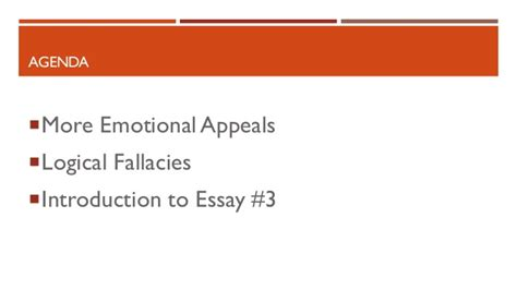 Rmc Mba Review by Emotional Appeals Essay