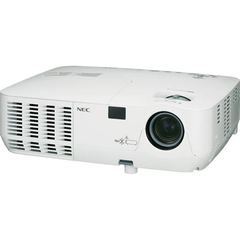 nec np115 dlp mobile projector np115 b h photo