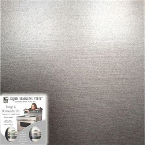 Liquid Stainless Steel Paint Countertop by Giani Liquid Stainless Steel 12 Oz Stainless Steel