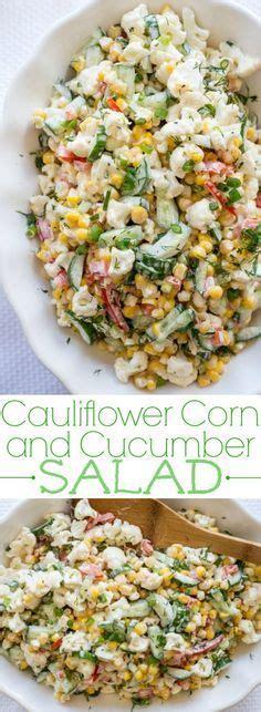 Corn Detox Diet by 1000 Ideas About Cauliflower Salad On