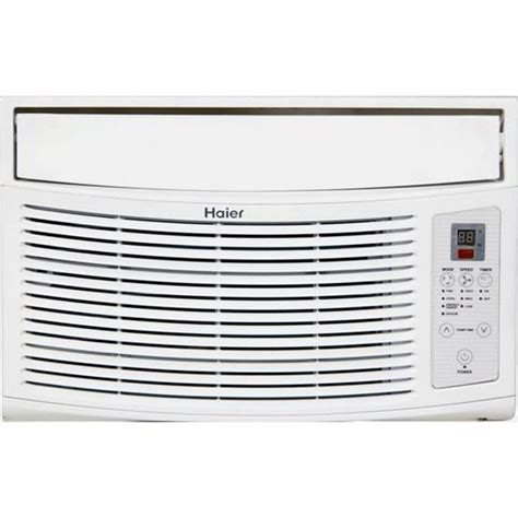 haier 6 000 btu window air conditioner with remote in