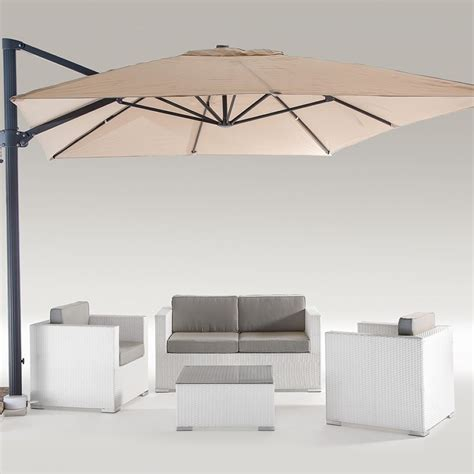 chimera outdoor set in aluminium and polyethylene