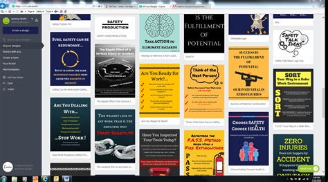canva resolution a free website for designing safety posters or graphics