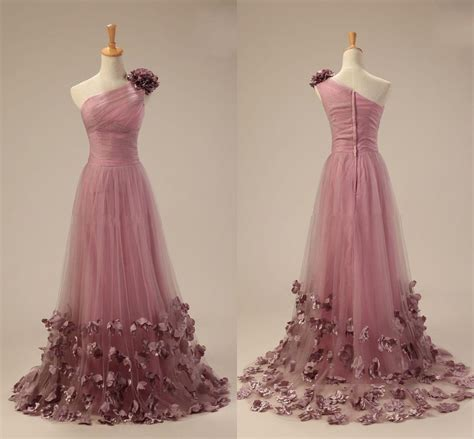 light purple tulle prom dresses formal