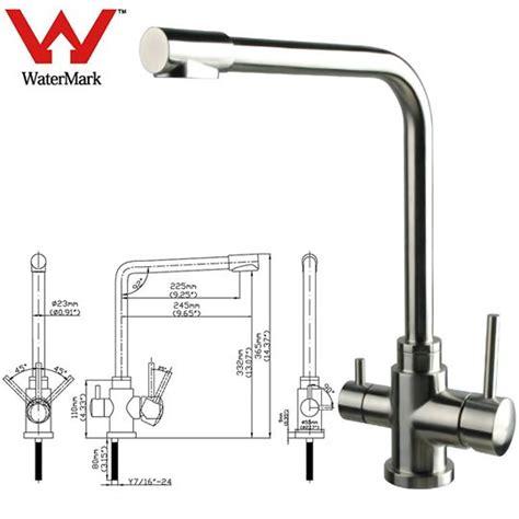 kitchen sink taps australia australia watermark stainless steel 3 way water filter mixer tap cold ebay