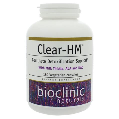 Nac Mercury Detox by Bioclinic Naturals Clear Hm 180 Capsules