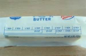 cups of butter in one stick myrecipesbutter 1 2 stick to