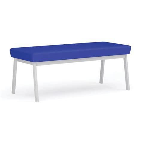 newport bench lesro newport series 2 seat bench 45 quot standard fabric
