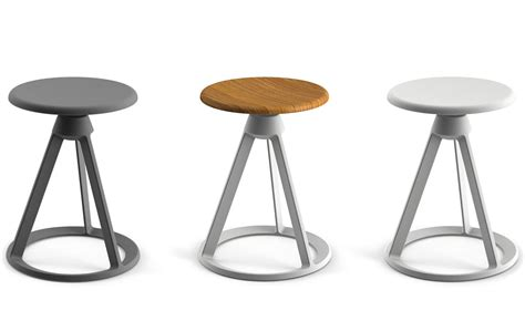 Modern Table Settings barber amp osgerby piton fixed height stool hivemodern com