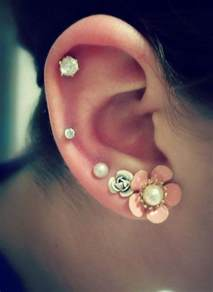 cartilage earrings 50 beautiful ear piercings and design