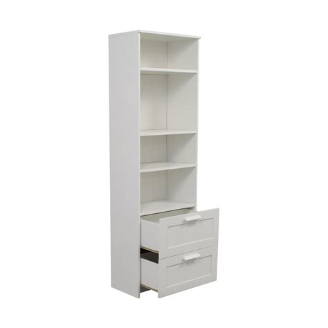 ikea bookcase with drawers 44 ikea ikea brimnes white bookcase with two