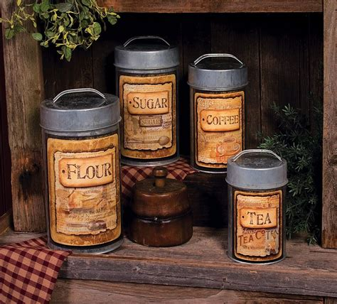 kitchen canisters set of 4 olde mill kitchen canisters set of 4 for the home