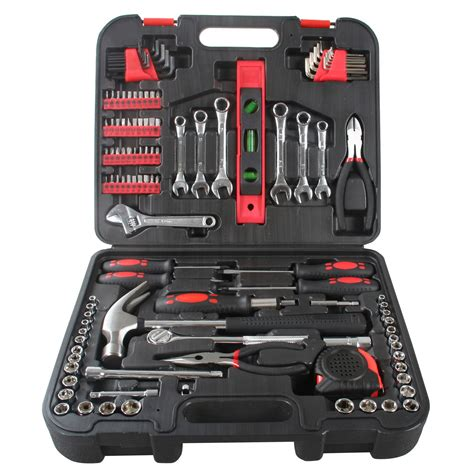 119 tool kit set mechanics craftsman wrench socket