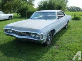 1967 impala 4 door hardtop no post 67 chevrolet chevy