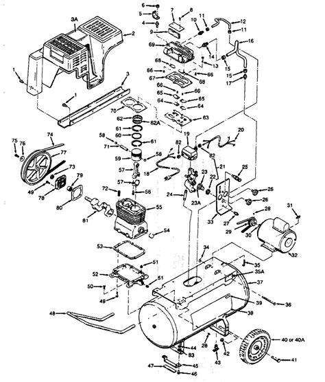 wiring diagram for craftsman air compressor wiring diagram