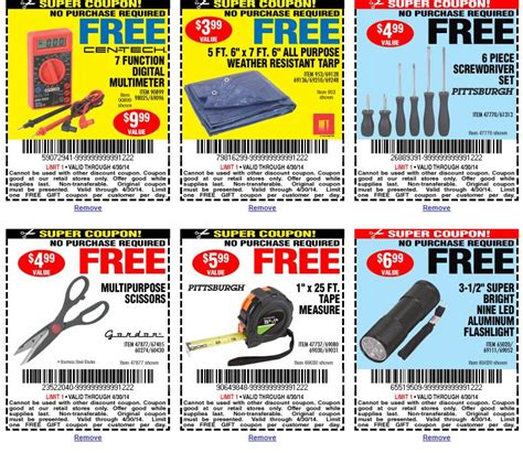 printable coupons for free stuff