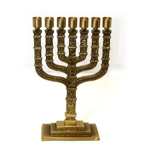 Handmade Menorah - handmade beautiful twelve tribe menorah george kouz