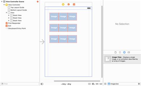 appcelerator view layout horizontal ios creating a 3x3 grid with auto layout constraints