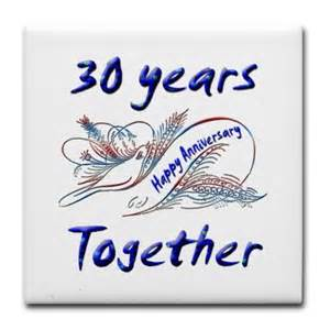 sayings for 30th wedding anniversary happy 30th anniversary quotes quotesgram