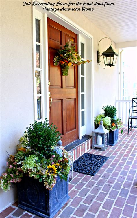 fall decorating time vintage american home