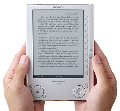 5 Books For A Wide Reader by Sony Ebook Readers Review