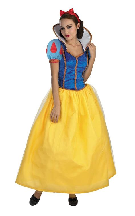 Kostum Snow White Deluxe snow white deluxe costume disney princess fancy gown dress s ebay