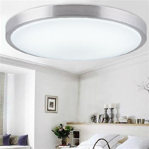 Led Ceiling Lights For Kitchens Aliexpress Buy New Modern Acrylic Lshade Surface Mounted Led Ceiling Lights Fixtures