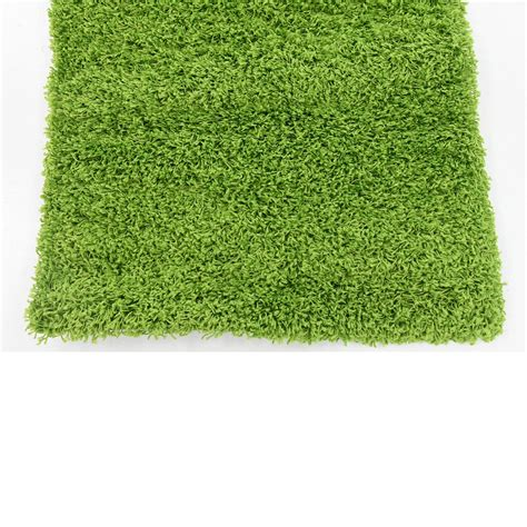 green grass rug carpet modern rugs floor carpet area grass green 2 5 x 10 solid shag rug ebay