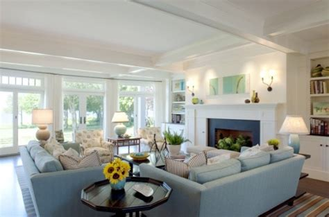 sectional sofa in front of window facing fireplace corner house envy furniture layout big or small space you ve