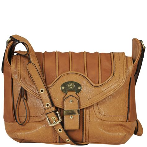 Asymmetric Buckle Bag In The Style Of Mischa Barton By Asos by Mischa Barton Jersey Large Cross Bag Womens