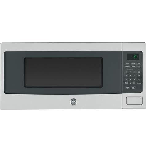 Ge Countertop Stove Parts by Ge 1 1 Cu Ft Spacemaker Microwave Oven In Stainless Steel The Home Depot Canada