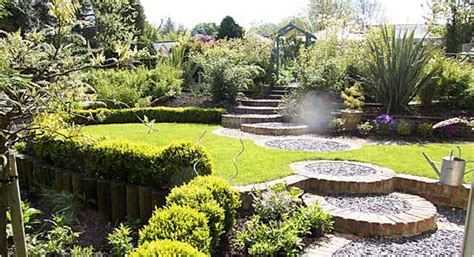 the beautiful home gardens with great landscaping this for all