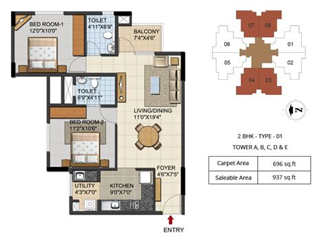 2bhk plan 2 3 bhk apartment near hebbal flyover bangalore