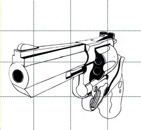 how to draw doodle guns how to draw a gun drawing