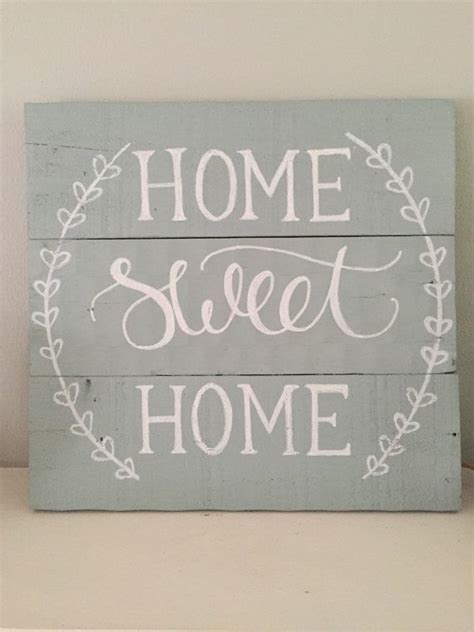 home sweet home decor home sweet home sign reclaimed wood pallet sign rustic