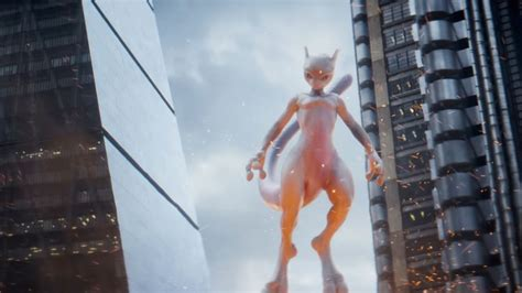 latest detective pikachu  trailer reveals mewtwo