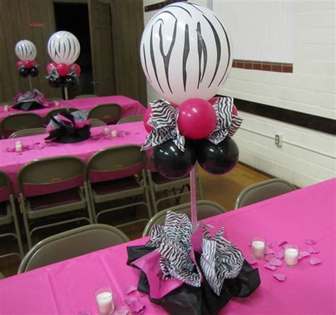 Quinceaneras Centerpieces Balloon Centerpiece With 55 Best Images About Quinceanera On