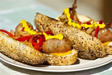 Small Steps To The Garde Manger Breakfast Sausage With And by Grilled Sausage Sandwiches Cooking Outdoors