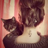 Beautiful Cat Tattoos  Inspiration Photos