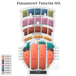 Fox Theater Floor Plan Paramount Theatre Seattle Tickets Paramount Theatre