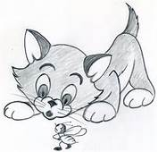 Lets Draw This Cute Cartoon Kitten